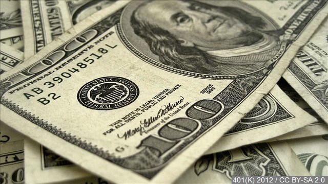 Toddler shreds more than $1,000 in cash
