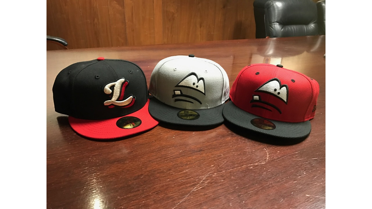 The Lansing Lugnuts introduce three new caps 72c6682e7878