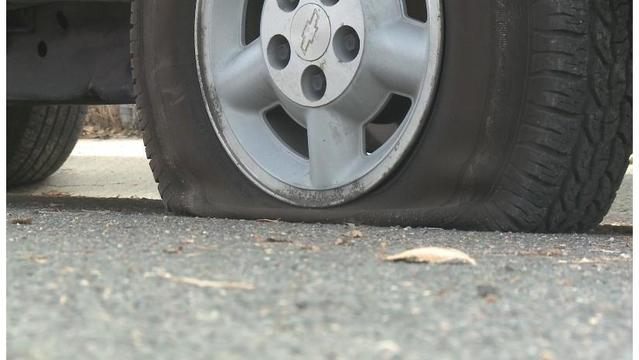 Tires slashed on at least 15 vehicles in Charlotte, police investigating