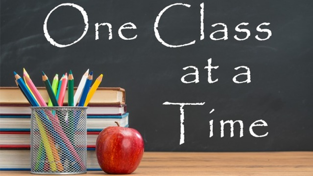 One Class at a Time | Official Rules