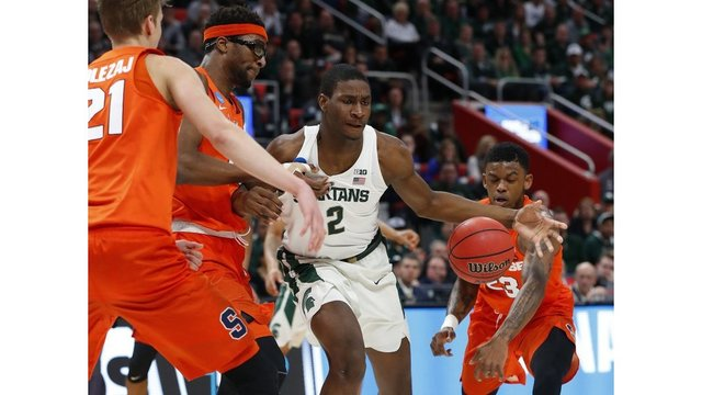 Bucknell falls to Michigan State in opening round