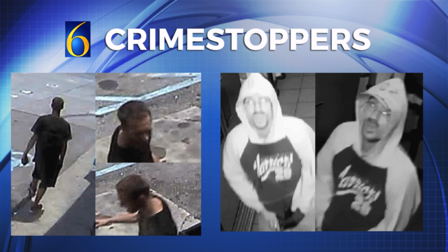 Crimestoppers: 1 Attempt to Identify and 2 People Wanted for a Felony