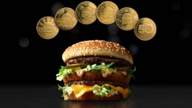 McDonald's unveils MacCoin to celebrate Big Mac's 50th anniversary
