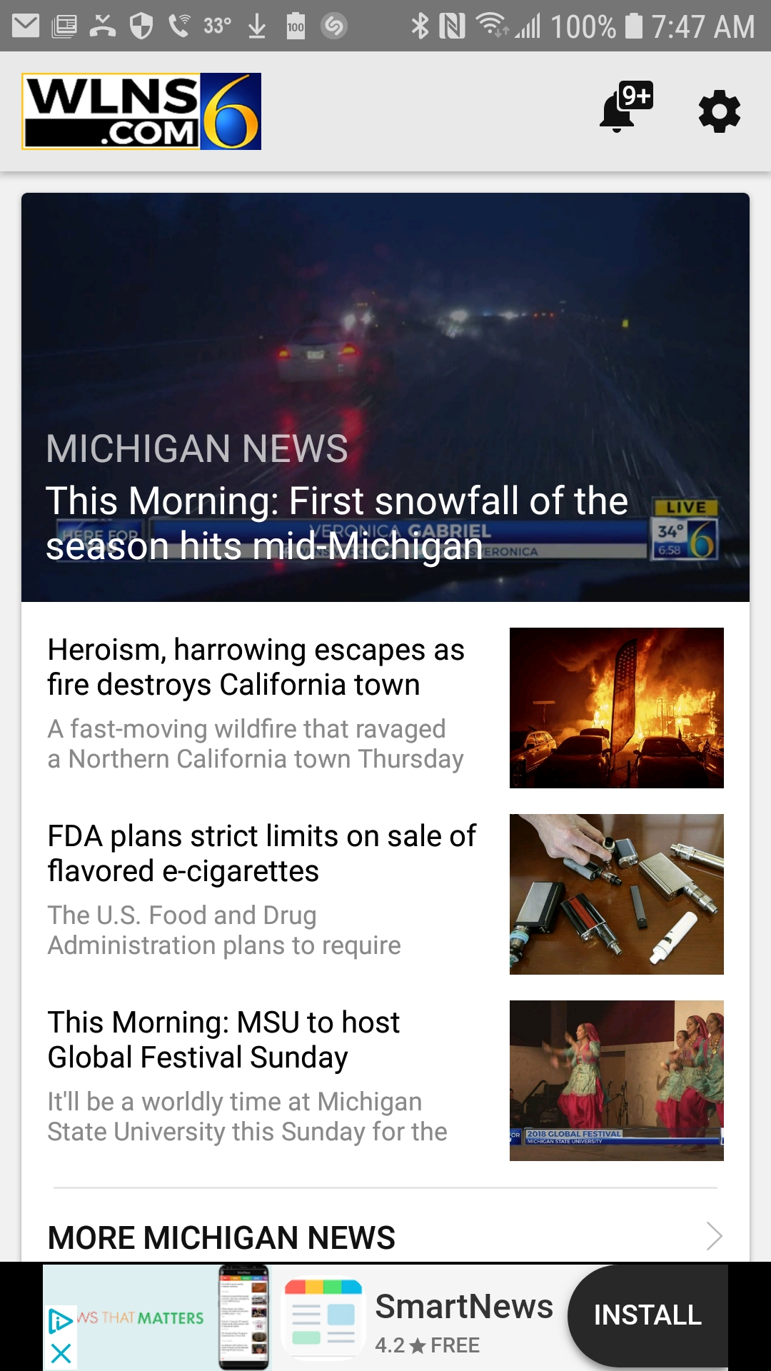 WLNS 6 Apps | WLNS 6 News
