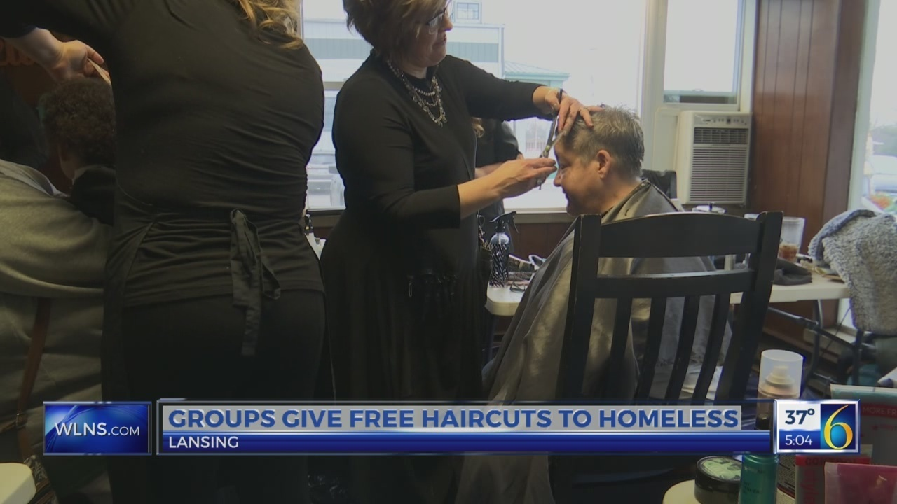 Groups Team Together To Give Free Haircuts To Homeless