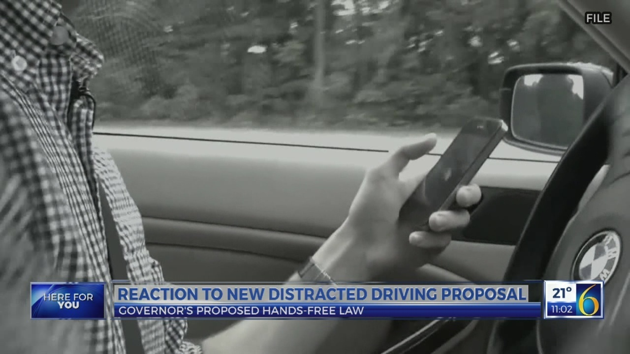 Reaction to new distracted driving proposal