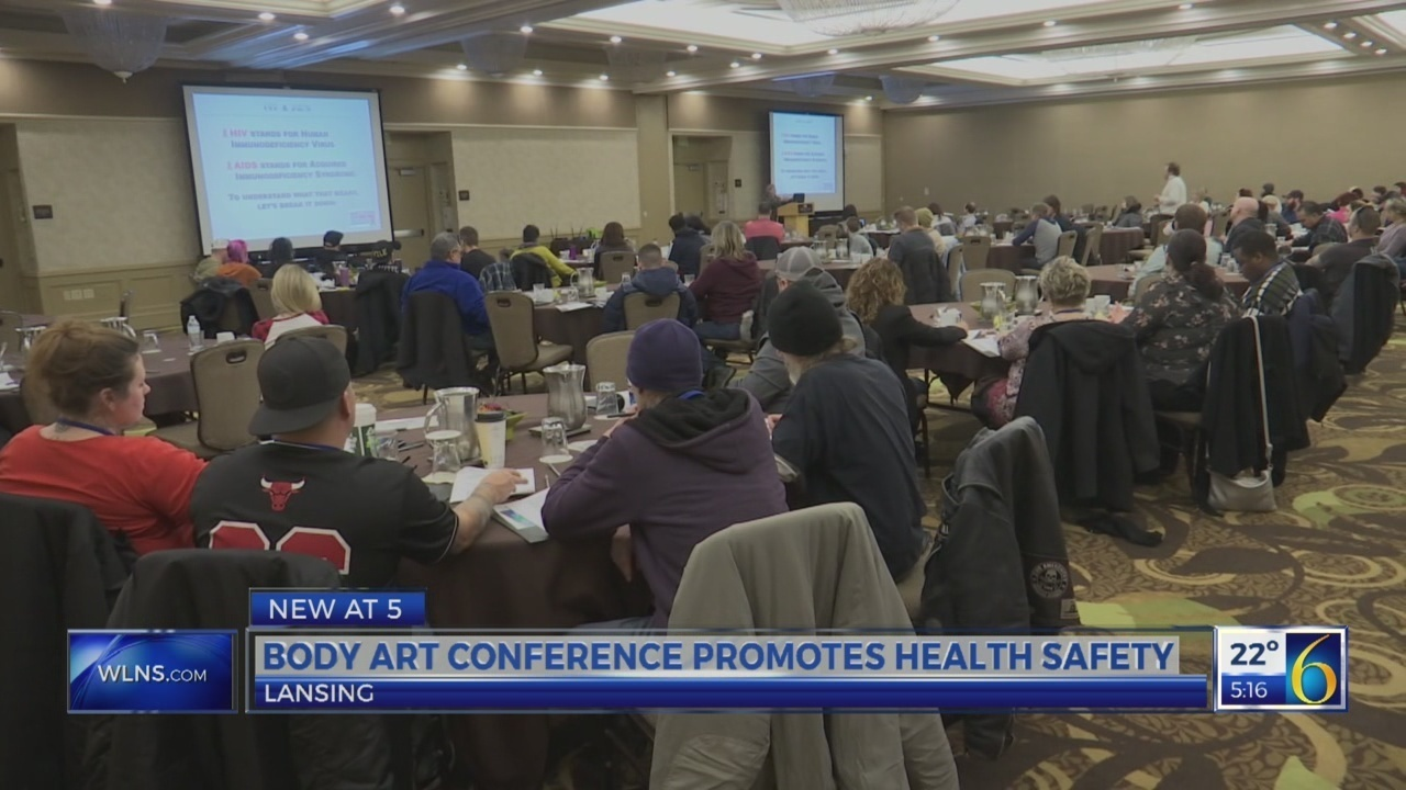 Body art conference promotes health safety