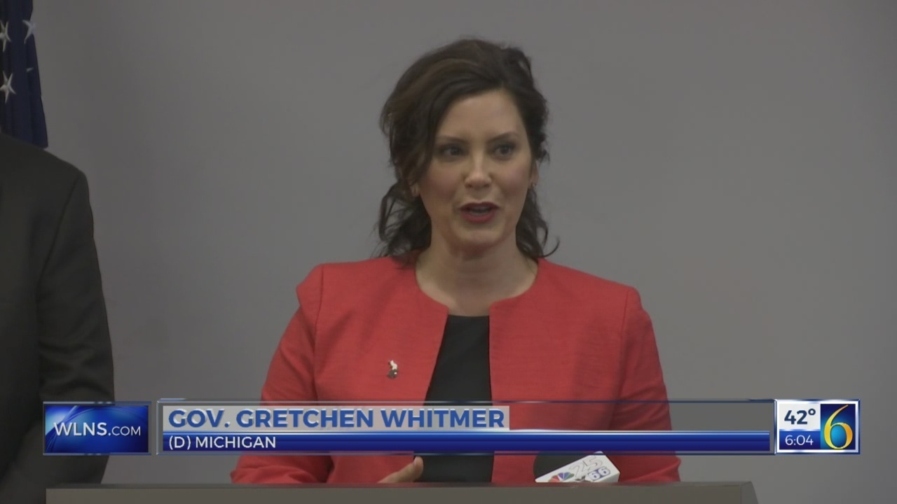 Gov. Whitmer weighs in on gas tax controversey