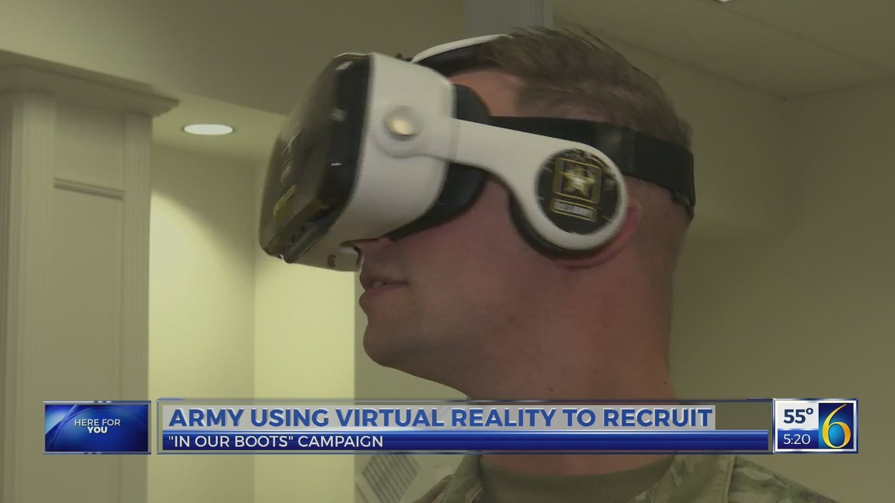 Virtual Reality is the Latest Tactic The Army is Using to Recruit