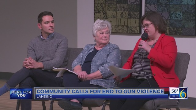 Community calls for end to gun violence